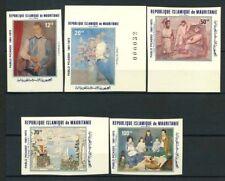 Mauritania 1981 Mi. 721-725 Nuovo ** 100% Non dentellati Pablo Picasso Pittura