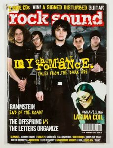 My Chemical Romance Ville Valo HIM Lacuna Coil Rammstein ROCK SOUND MAGAZINE UK