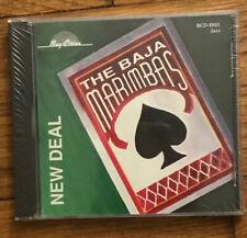 The Baja Marimbas- New Deal- new/sealed CD