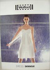 WOLFORD DRESS SWIMWEAR 89167 White Damen Strand Kleid Gr.40 NEU mit ETIKETT OVP