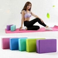 Pair Yoga Block Brick Foam Exercise Brick Yoga Blocks Eco Friendly Pilates Block
