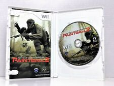 Greg Hastings Paintball 2 (Nintendo Wii, 2010) Complete In Box, Fast Shipping