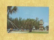 FL Sarasota 1970s postcard KIDS PLAYGROUND AT SIESTA BEACH  FLORIDA