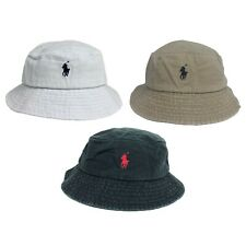 POLO RALPH LAUREN CAP / BUCKET HAT ONE SIZE FITS ALL 59CM 100% COTTON RRP £40