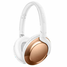 Philips 4.1 Bluetooth Headphones Foldable Wireless Headphones Over Ear RoseGold