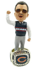 Mike Ditka Chicago Bears 1985 Super Bowl Ring Base Bobblehead Exclusive #750