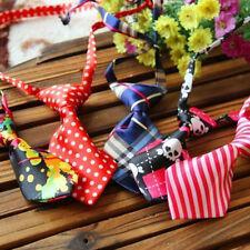 1X Cute Adjustable Pet Dog Necktie Kitten Cat Bow Tie Collar Kid Accessories Hot