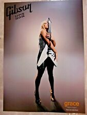 GRACE POTTER SEXY GIBSON USA FLYING V GUITAR POSTER NICE COLLECTIBLE RARE NEW