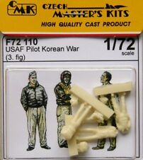 Czech Master 1/72 USAF Pilots Korean War x 3 # F72110