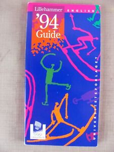 Booklet - Guide Book - Lillehammer '94 Olympic Winter Games - 1994 - 160 pages