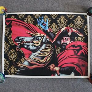 Santa Cruz Screaming Hand Jason Arnold Art Print Jim Phillips 30th Anniversary