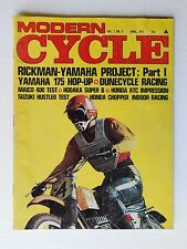Modern Cycle Magazine April 1971 Rickman Yamaha Dunecycle Maico 400 Hodaka
