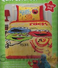 Elmo Duvet | Doona Quilt Cover Set | Cookie Monster | Oscar | Single