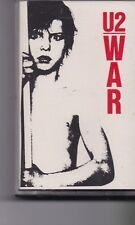 U2-War music Cassette