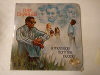 Ray Charles ‎– A Message From The People - Vinyl LP 1972 Promo Copy