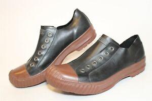 Converse John Varvatos Mens Size 8 Rubber Slip On Waterproof Shoes