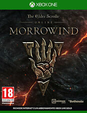The Elder Scrolls Online Morrowind XBOX ONE IT IMPORT BETHESDA