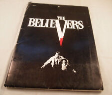 1987 The Believers Rare Press Kit with Folder/Pictures/Paperwork Orion Pictures