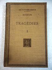 Escriptors Grecs,Tragedies I Sofocles,F.Bernat Metge 1951
