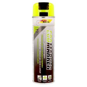 Kreidespray gelb Dupli-Color Markierungsspray Kreide Spray 500 ml Sprühkreide