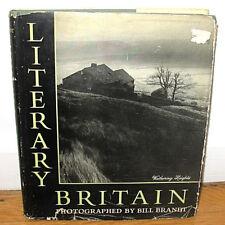 Bill Brandt Literary Britain Original 1951 Dust Jacket John Milton Keats Clare