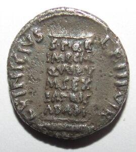 RARE Denier Auguste – L. Vinicius - Denarius Cippe  - Argent Silver