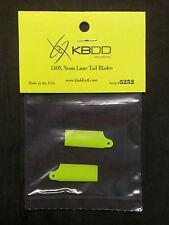 KBDD Blade 130 x Neon Lime Tail Rotor Blade #5252, 130x