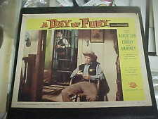 A DAY OF FURY, orig 1956 LC #4 (Jock Mahoney in cell talking to sheriff)