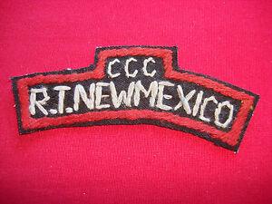 Vietnam War MACV-SOG CCC RT NEW MEXICO Hand Made Scroll Patch