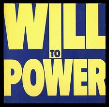 WILL TO POWER - SPAIN LP EPIC 1988 - DREAMING/SEARCHIN'
