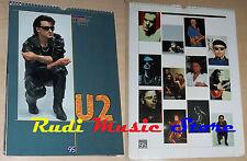 CALENDARIO U2 1995  no cd dvd lp mc tour live