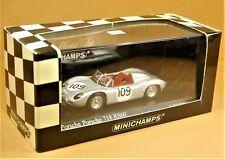 MINICHAMPS 1:43 - PORSCHE 718 RS60 #109 Hill - Paul's Model Art 1/43 NEW & BOX