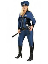 XL Plus Size New Lady Justice Costume Jumpsuit Hat PVC Cop Police