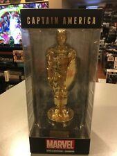 Captain America Gold Founder Statue Marvel Collector Corps Funko Pop Comics