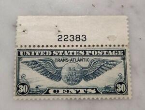 US Scott  #C24 MH F/VF Plate Single #22383