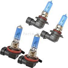 H11 HB3 Dipped/Main Headlights Xenon Super White Lamp Light Bulbs Kit