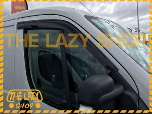 Weathershields Weather Shields Window Visor for Fiat Ducato 07+