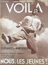 REPORTAGES PHOTOS VOILA 1938 CONTREBANDE ARMES MARSEILLE DOCTEUR FAUST AGADIR