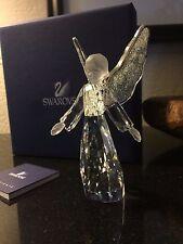RETIRED 2008 SWAROVSKI Silver Crystal Angel #946480  - Pristine MIB