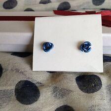 Blue earing set Poppies