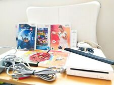 ⭐ Nintendo Wii Console + Balance Board + Controller + 8 Games ⭐ Kids Bundle ⭐