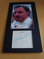 Graham Hill Genuine signed authentic autograph - UACC / AFTAL.