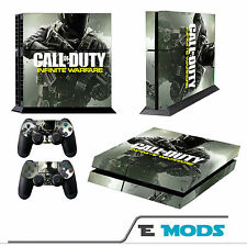 Call of Duty infinite Warfare PLAYSTATION 4 ps4 console Pelle + 2 Controller