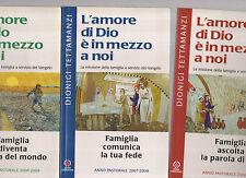 l' amore di dio e' in mezzo a noi - dionigi tettamanzi - tre libri 12 euro