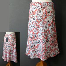 Marks and Spencer Linen Floral Flippy, Full Skirts for Women