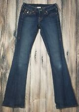 Womens True Religion Section Joey Row seat Flare Jeans Size 25 x 32