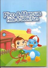 PICO and MARCUS HIDE and SEEK FUN Childrens Reading Picture Story Book