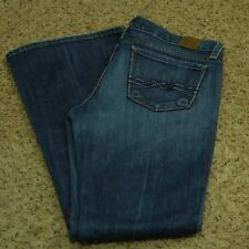 Lucky Brand Jeans Women's Zoe Flare Stretch Faded 6/28 (Measures 31 x 32)
