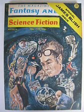 USA Magazine - THE MAGAZINE OF FANTASY AND SCIENCE FICTION No. 251, April 1972
