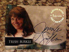 Angel Season 5 Autograph Card Trish Burkle Jennifer Griffin A44
